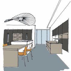 La gama de tonos #sombra de #LesCouleursLeCorbusier de #Leicht incorpora tres tonalidades diferentes con sutiles matices que resultan perfectas para cubrir planos y elementos en cocina con acodegora discreción. #ZelariDeNuzzi #DespiertaTusSentidos Le Corbusier, Kitchen Design, Cover, Kitchens, Trendy Tree, Trends, Architecture, Furniture, Interiors