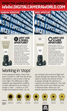 Apertures: when to go small and when to go wide (free photography cheat sheet)