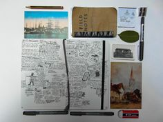"""fuckyeahjournalss: """" litzippo: """" My notebooks! These are just the notebooks I have at my flat, I have dozens more at home. The Fieldnotes book I carry everywhere with me- traveling, climbing, working. Travel Europe Cheap, Travel Icon, Field Notes, Breakfast For Kids, Paris Travel, Good Job, Craft Tutorials, Free Games, Travel Pictures"""
