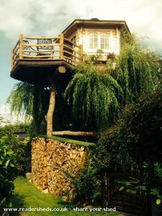 Terry's Treehouse is an entrant for Shed of the year 2015 via @unclewilco  #shedoftheyear