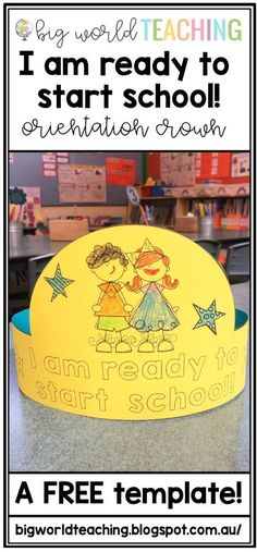 Starting School Crown - Another FAB Orientation Activty!