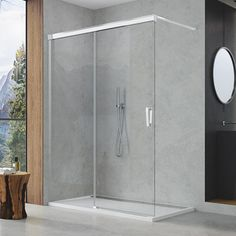 Kvalitní sprchové kouty a sprchové vaničky - Sanswiss Ronal Group. Dance Studio, Divider, Bathtub, Bathroom, Furniture, Home Decor, Standing Bath, Washroom, Bathtubs
