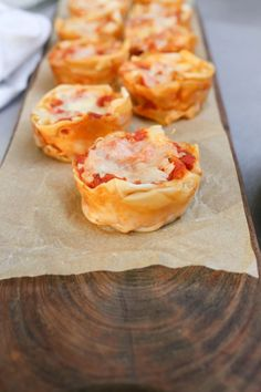 Lasagne Cupcakes Recipe | Pamela Salzman & Recipes (use Kite Hill ricotta to make vegan)