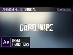 After Effects Tutorial: MORPH WORDS Into Other Words - Motion Graphics Transition - YouTube