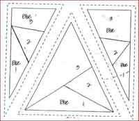 Good paper piecing tutorial - 100 FREE quilting tutorials.