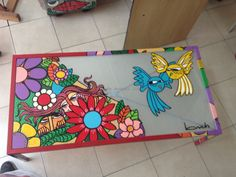 ARTE APLICADO : Claudio Baldrich Artista Plastico Kids Rugs, Home Decor, Paint Wood Furniture, Painted Chairs, Painted Wood, Appliques, Artists, Art, Decoration Home