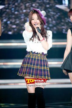 시크릿(Secret) 송지은, '귀여운 모자가 잘어울려' …MBC MUSIC 쇼 챔피언 녹화 현장 [KPOP PHOTO]
