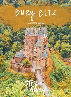 Burg Eltz: een sprookjeskasteel uit een Disneyfilm - Stripe Away Europe Travel Tips, Travel Destinations, Europa Tour, Germany Castles, Fairytale Castle, Water Activities, Disney Films, Ultimate Travel, Germany Travel