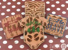 Wilderness Baby Sugar Cookies Sweet17Cookies.Etsy.com