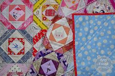 Mosaic Quilt Finished by During Quiet Time (Amy), via Flickr