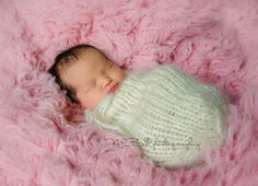 Sleep Sack. MANY COLORS. Knitted Newborn by LadyJanellesKnits