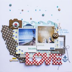 Beach Love *Lily Bee* - Scrapbook.com