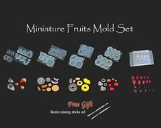 Japanese Authentic High-Quality Craft Molds & by RintyCrafty Baby Oil, Uv Resin, Silicone Molds, Dollhouse Miniatures, Free Gifts, Raspberry, Polymer Clay, Fruit
