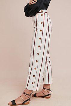 M.i.h Cropped Stripe Pants