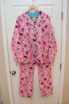 Camille Womens Sleepwear 100/% Cotton Pink /& Aqua Blue Poodle Cropped Pyjama Set