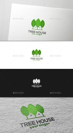 Buy Tree Green House by yogodonald on GraphicRiver. Tree Green House – Is an illustrative cartoon logo for Environmental care related business. It's great for websites a. Water Logo, Cartoon Logo, Tree Logos, Real Estate Logo, Leaf Logo, Vector Shapes, Home Logo, Typography Logo, Logo Design Inspiration