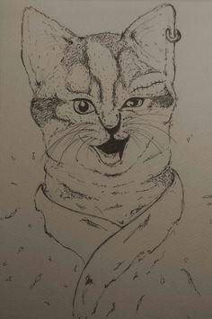 #sketch #drawingpen #catbroke