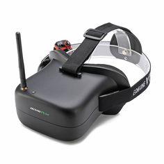 16d8f9ae03e Eachine VR-007 VR007 5.8G 40CH HD FPV Goggles Video Glasses 4.3 Inch With