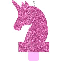 Magical Unicorn Glitter Birthday Candle | BIG W Unicorn And Glitter, Pink Glitter, Rainbow Birthday Invitations, Glitter Birthday, Pink Candles, Magical Unicorn, All You Need Is, Pink Color, Special Day