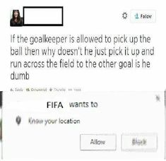 I'm on my school's varsity soccer team but I have no answer to this