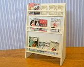 Shop magazine rack original design dollhouse miniature