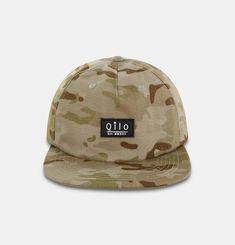 Qilo Multicam Strapback Hat in Arid Pvc Patches, Combat Gear, Camo Patterns, Strapback Hats, Leather Buckle, Baseball Hats, Baseball Caps, Caps Hats, Baseball Cap
