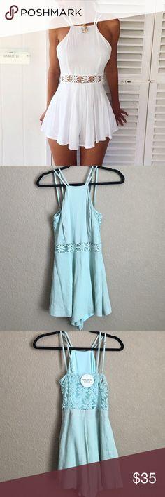 Brand new mint romper small Brand new perfect for summer Modlook 29 Dresses Mini