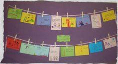 παιχνιδοκαμώματα στου νηπ/γειου τα δρώμενα: του σκοινιού τα μανταλάκια !!! Autumn Activities, School, Blog, Schools