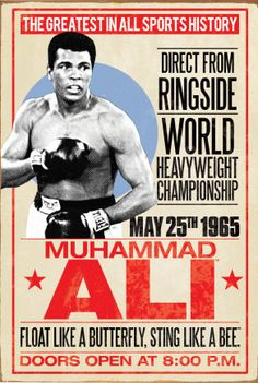 Muhammad Ali~ #Vintage #Sports #Posters ......  [March 2016]   Also, Go to RMR 4 BREAKING NEWS !!! ...  RMR4 INTERNATIONAL.INFO  ... Register for our BREAKING NEWS Webinar Broadcast at:  www.rmr4international.info/500_tasty_diabetic_recipes.htm    ... Don't miss it!