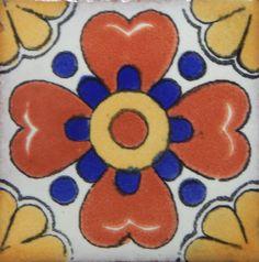Tile Art, Mosaic Art, Mexican Art, Mexican Tiles, Mexican Ceramics, Clay Tiles, Handmade Tiles, Decorative Tile, Tile Patterns