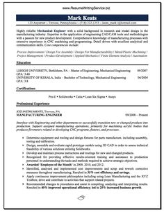 Hvac Mechanical Engineer Resume Sample  HttpResumesdesignCom