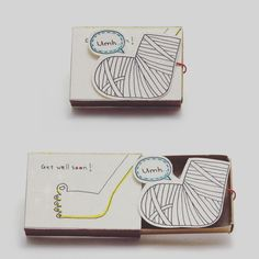 Vietnamese Artist Creates Tiny Matchbox Greeting Cards With A Hidden Messages Inside - ETSY Matchbox Crafts, Matchbox Art, Love Cards, Diy Cards, Tarjetas Diy, Get Well Soon, Friendship Cards, Get Well Cards, Little Boxes