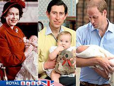 The Royal Baby's Major Milestones | Prince Charles, Prince William, Queen Elizabeth II