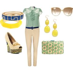 Funky Fem, created by katina-brock on Polyvore