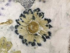 Magenta marguerite on silk broadcloth Ecouture Textile Studio