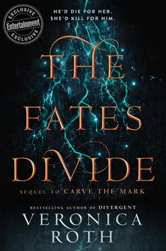 #CoverReveal The Fates Divide (Carve the Mark, #2) by Veronica Roth