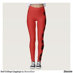 Limited Edition Red Rawai Leggings
