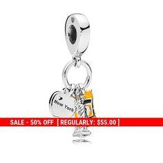 d46c71180 Sterling Silver New York Charms, Cab Charm, #supplies @EtsyMktgTool  #pandoracharm #