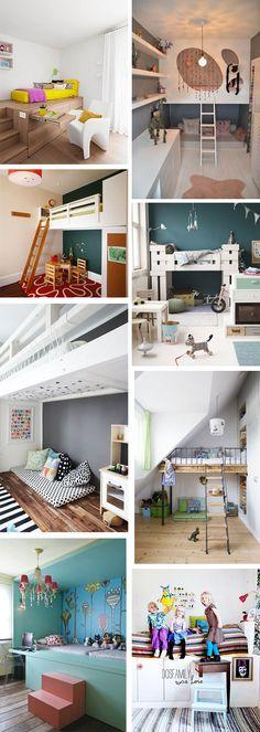 Short on space? We've got great kids loft bed ideas!