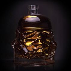 Stormtrooper Decanter Pours A Straight Shot, Even If You Can't Shoot Straight - #drinking #party #starwars