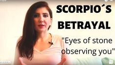 If you betray Scorpio you will know. Eyes of stone will observe you forever. This Scorpio will bleed but you will never see his blood. Betrayal, Scorpio, Eyes, Scorpion, Cat Eyes