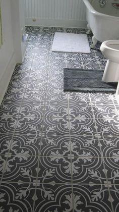 Merola Tile Twenties Classic 7-3/4 in. x 7-3/4 in. Ceramic Floor and Wall Tile