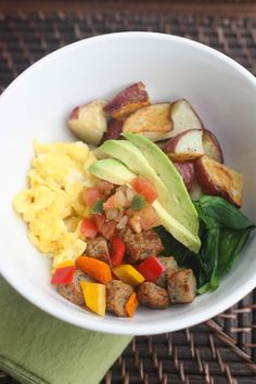 Egg and Sausage Brinner Bowls   Tastes Better From Scratch