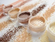 Our mineral hypoallergenic concealers