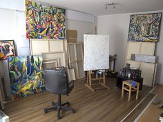 Interview with a young European painter, artist. in the studio of Maciej Cieśli. Painter Artist, Artist Art, Interview, Contemporary Art, Modern Art, Studio, Berlin, Animation, Paintings
