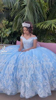 Light Blue Quinceanera Dresses, Mori Lee Quinceanera Dresses, Cinderella Quinceanera Themes, Sweet 15 Dresses, Pretty Prom Dresses, Mermaid Prom Dresses, Wedding Dresses, Xv Dresses, Quince Dresses