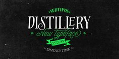 Distillery - Webfont & Desktop font « MyFonts by Alejandro Paul