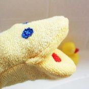 washcloth hand puppet in just 15 minutes