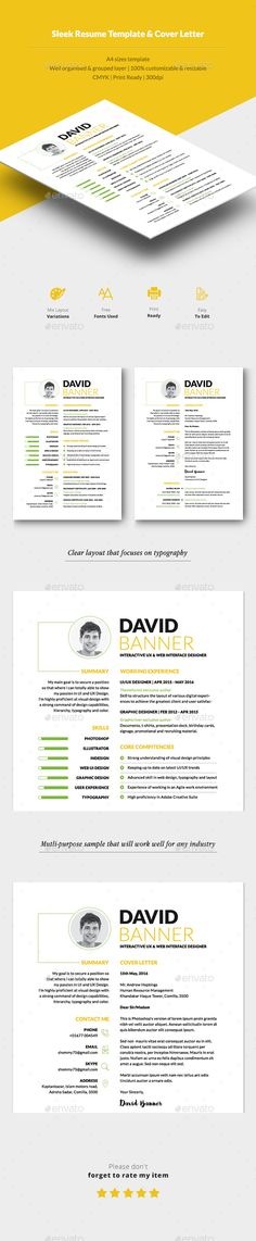 Clean Resume Vol 7 Cleaning, Creative resume templates and Cv - resume in indesign