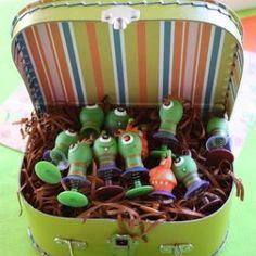 Monsters vs Aliens kids birthday